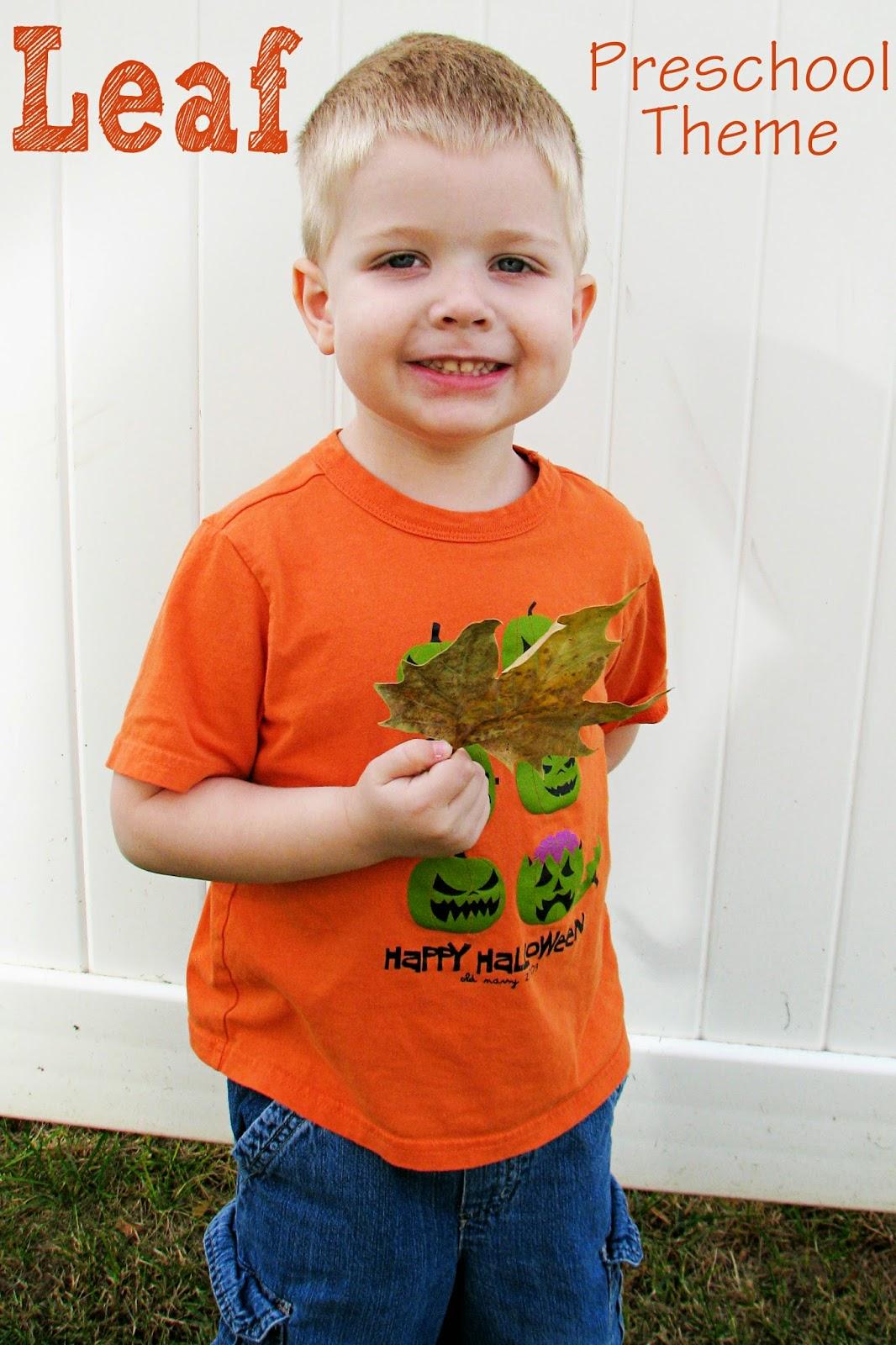 Mommy S Little Helper Leaf Preschool Theme