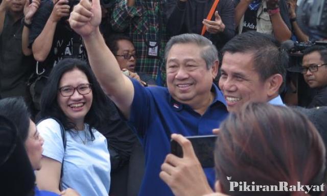 Absen di Istana, SBY pilih rayakan HUT ke-73 RI di Singapura