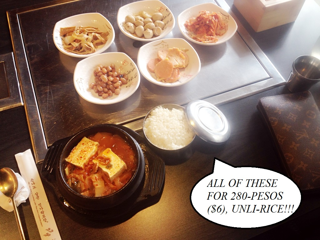 korean restaurant in Manila, Café Chosun
