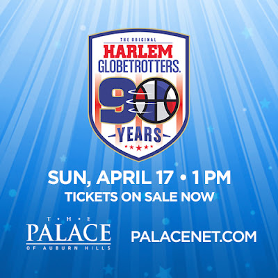 harlem globetrotters, Detroit, The Palace of Auburn Hills, entertainment, family entertainment, family fun, family, event, Detroit events, tickets, giveaway, win, enter to win, entertaining, kids, fun,