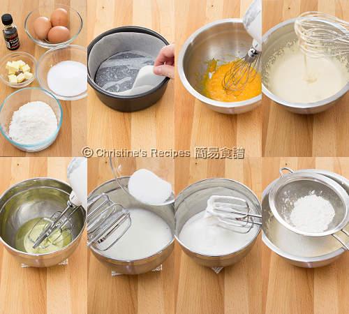 海綿蛋糕 Sponge Cake Procedures01