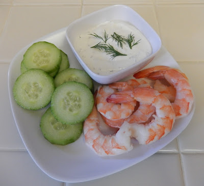 Shrimp%2BCucumber%2BCrackers%2BDill%2BGreek%2BYogurt%2BDip Weight Loss Recipes Post Weight Loss Surgery Menus: A day in my pouch