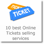 10 best Online Tickets selling services