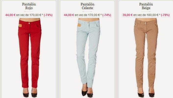 Pantalones mujer a 39 euros