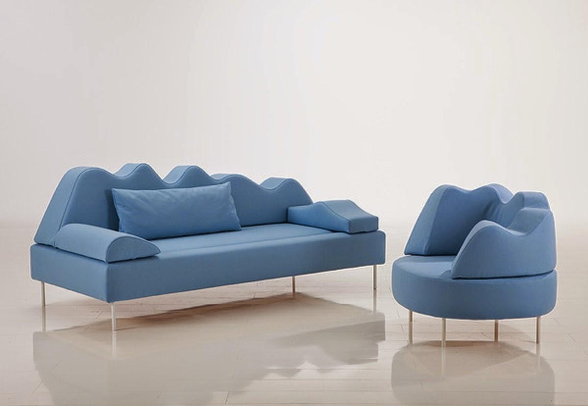 European laest designer Sofa Large Size U Shaped White