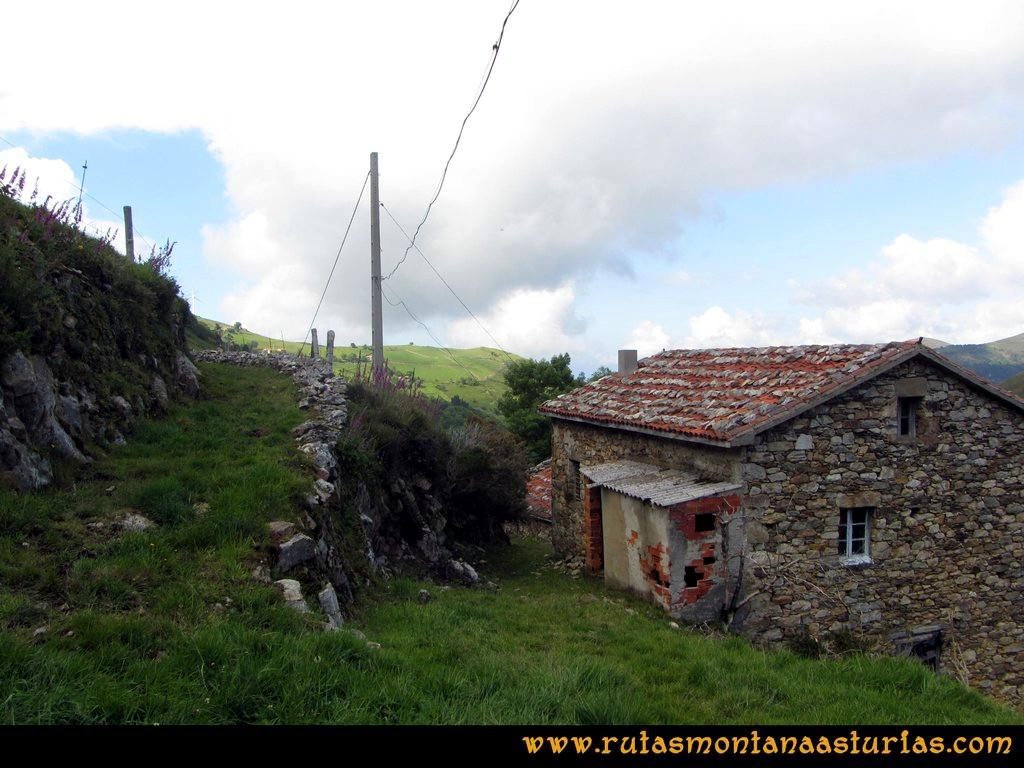 Ruta Llan de Cubel y Cueto: Entrando en Llendepín