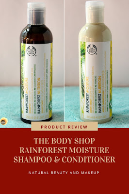 The Body Shop Rainforest Moisture Shampoo & Conditioner For Dry Hair REVIEW