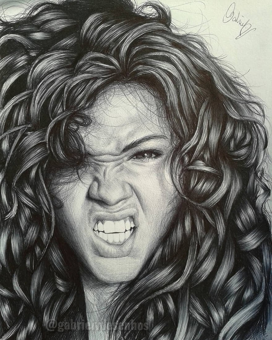 08-Anger-Gabriel-Vinícius-Ballpoint-Pen-Portraits-with-very-Different-Expressions-www-designstack-co