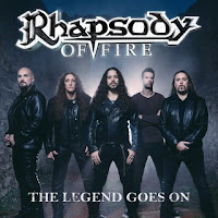 "Το single των Rhapsody of Fire ""The Legend Goes On"""