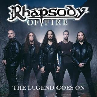 """Το single των Rhapsody of Fire """"The Legend Goes On"""""""