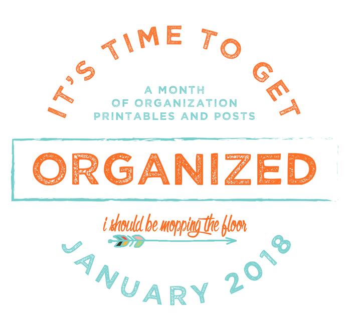 A month of free printables, premium printables, projects, and practical ideas to get your home and life completely organized.