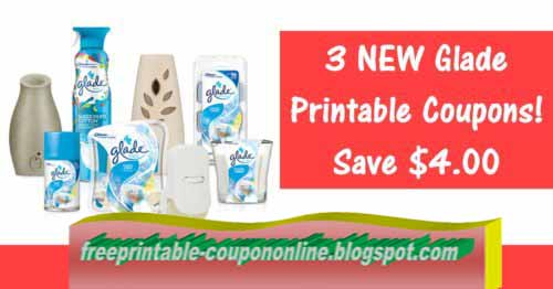 graphic about Glade Coupons Printable titled Printable Discount coupons 2019: Glade Discount codes