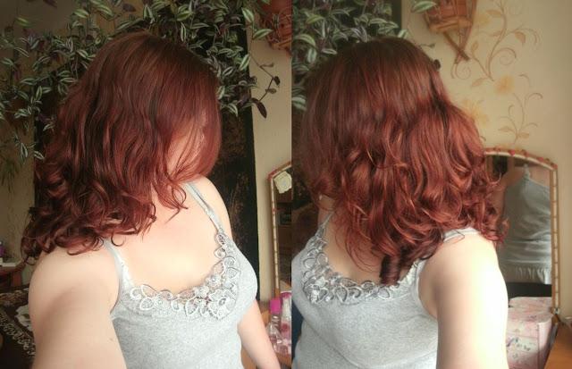 Moje włosy bez stylizacji i stylizatorów ;)
