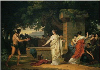 Odysseus ve Nausikaa