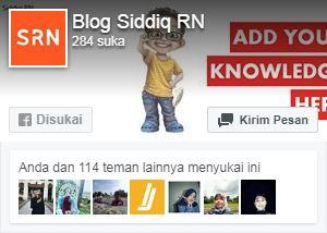 Cara Memasang Fanspage Facebook Responsive di Blog