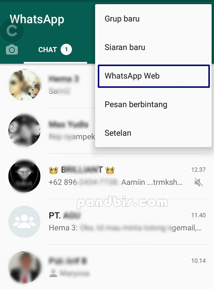 Check keamanan whatsApp web