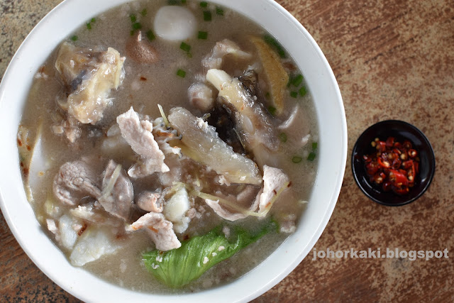 Giant-Grouper-Fish-Pontian-Johor-阿福魚湯小炒 龍膽之家