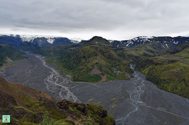 Valahnúkur en Thórsmörk, Islandia