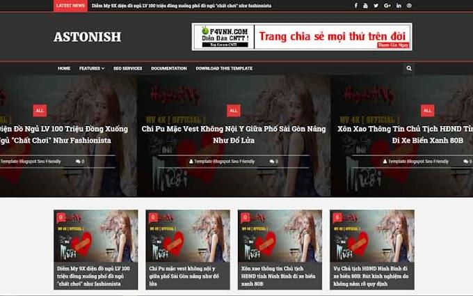 Astonish Template Blogger - Giao diện Blog cá nhân tuyệt vời V 14