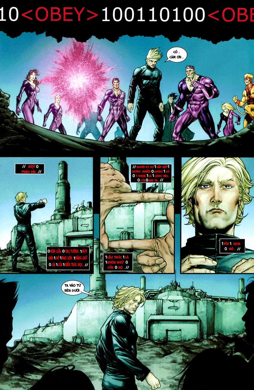 X-Men Necrosha chap 1 trang 32