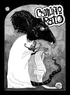 Camiño Di Rato(CdiR) # 8 e meio - Capa por Guilherme E. Silveira