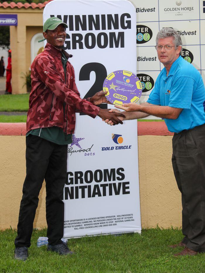 Grooms Initiative Winner - 22nd December 2019 - Race 8 - Sphiwe Zuma - ULTRA MAGNUS