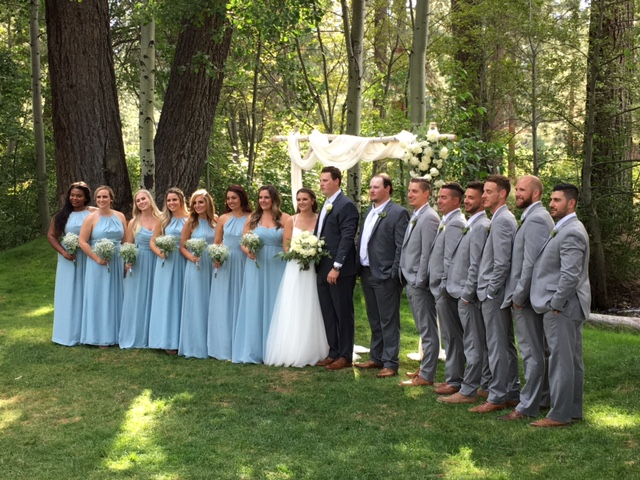 Aspen Grove wedding