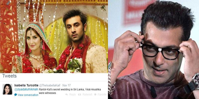 Salman Khan Will Attend My Wedding Katrina Kaif