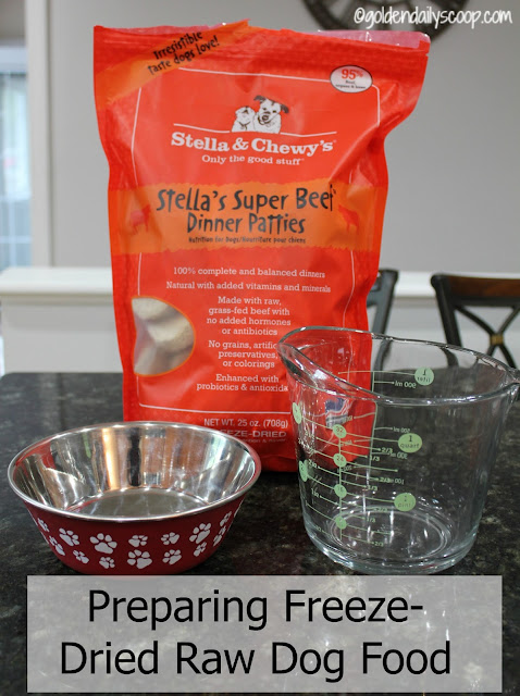 freeze dried raw dog food diet challenge