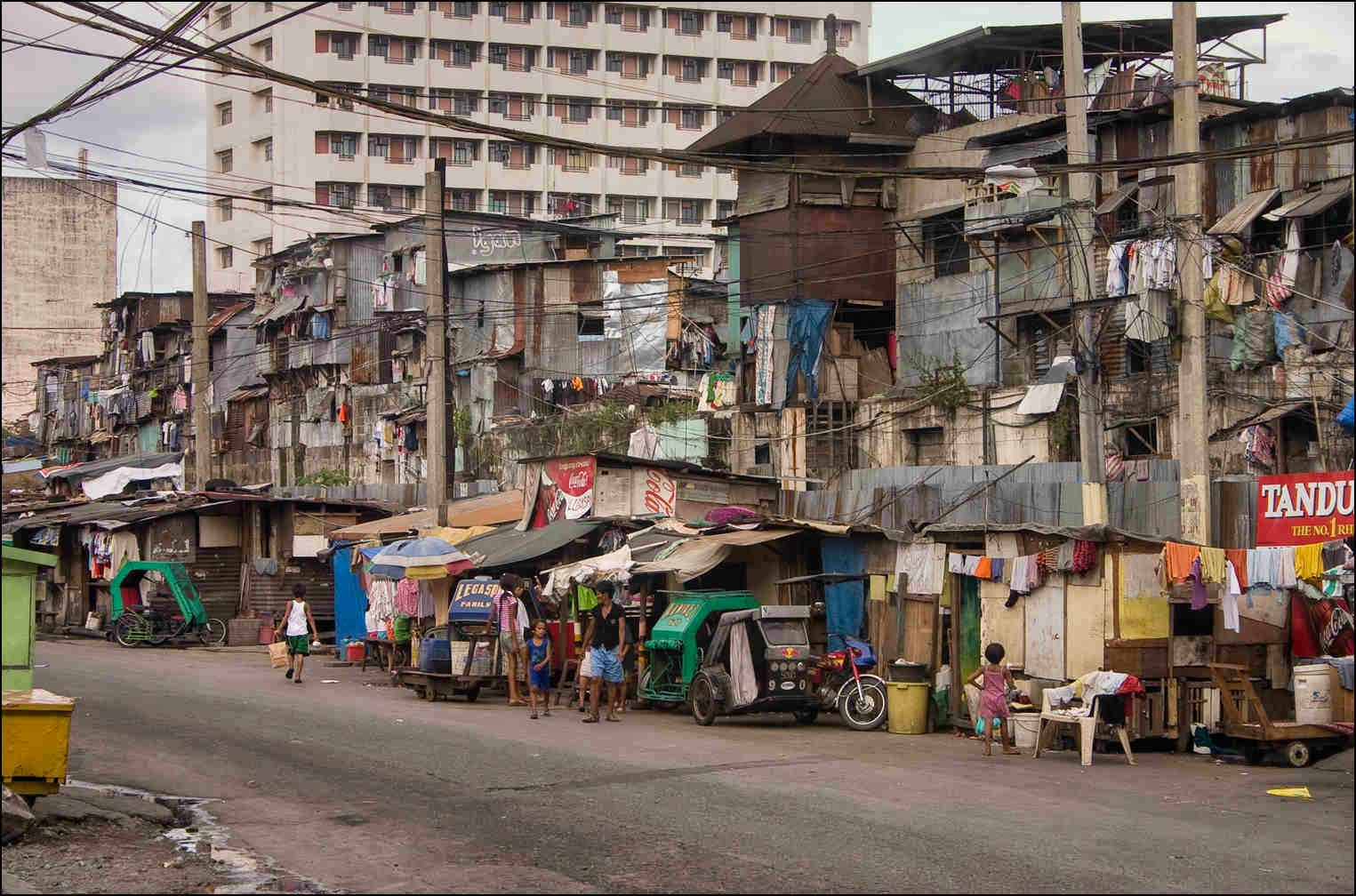 Manila Malate, poor street view