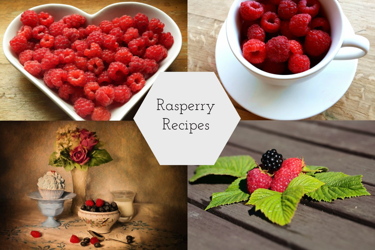 6 Fun Recipes with Raspberry... | Claire Justine