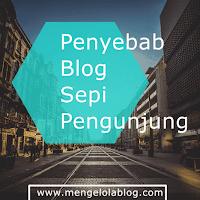 Inilah 5 penyebab blog Anda sepi pengunjung