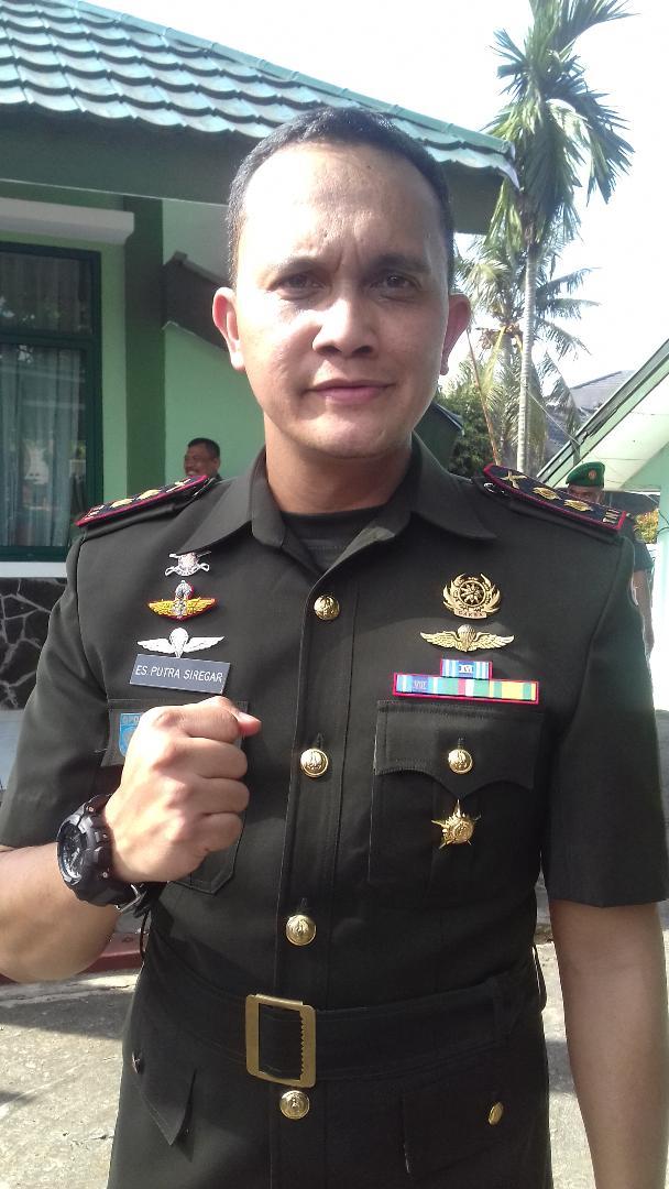 Letkol Inf Eko Syah Putra Siregar Jabat Dandim 0508/Depok