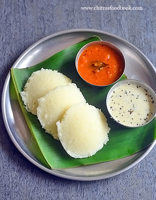 Instant plain rava idli recipe - Suji idli with Eno, curd