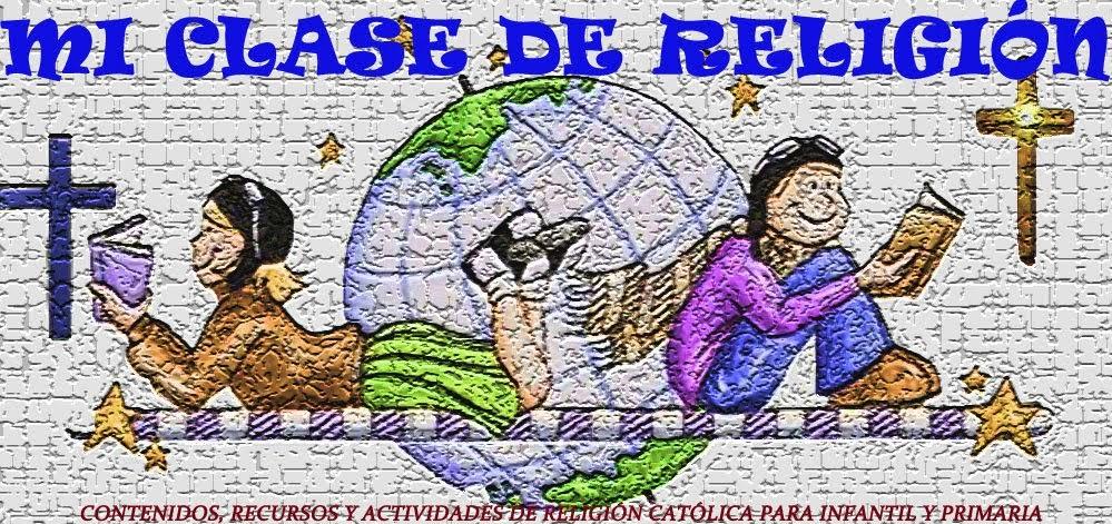 Dibujos Clase De Religion: MI CLASE DE RELIGION: FICHAS COLOREAR