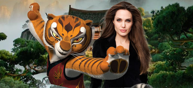 Body Of Steel Angelina Jolie Talks About Tigress In Kung Fu Panda 2