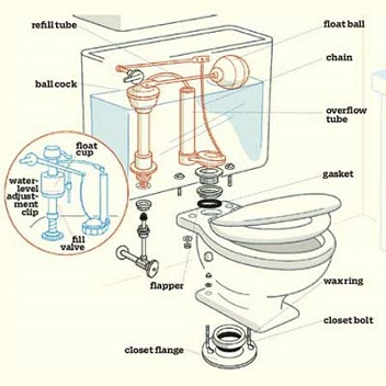 Fix That Leaky Toilet Yourself Dummy The Antisocial