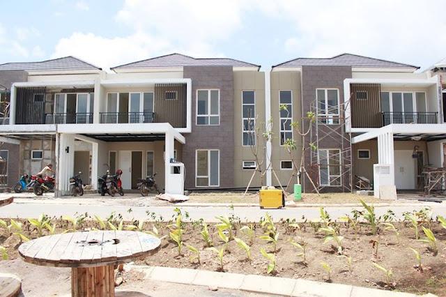 Orchard Park Batam House Progress Development