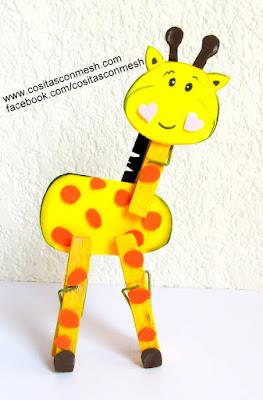 jirafa-manualidades-con-niños