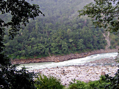 Rapids in Ganga at Rishikesh