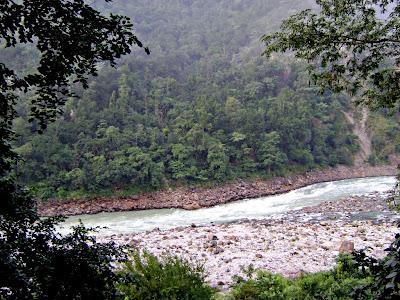 Rapids in Ganga at Rishikesh