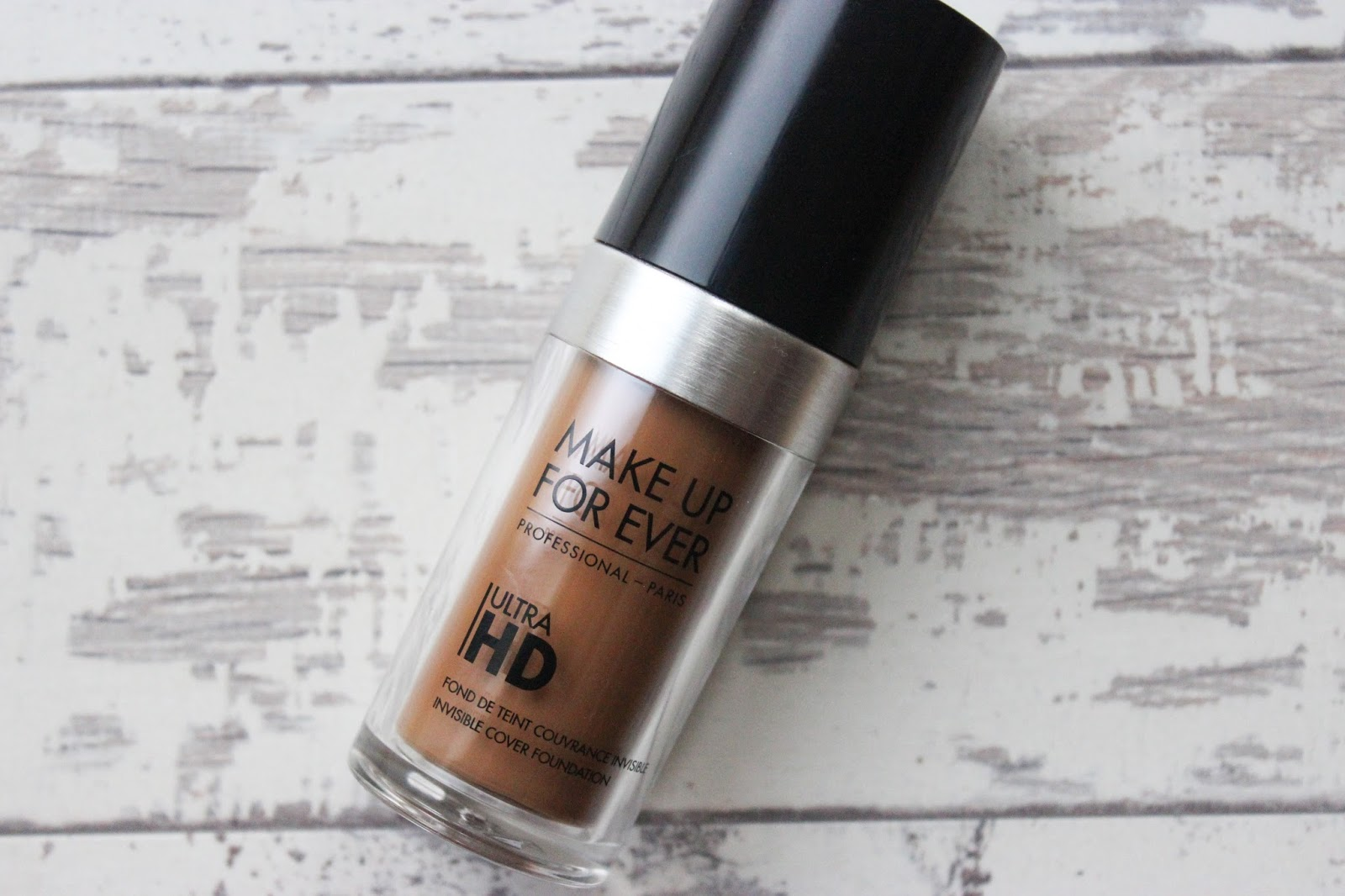 MAKE UP FOR EVER ULTRA HD FOUNDATION Y505 177 SWATCH DARK SKIN REVIEW BEAUTY BLOGGER NATALIE KAYO DISCOVERIESOFSELF BLOG