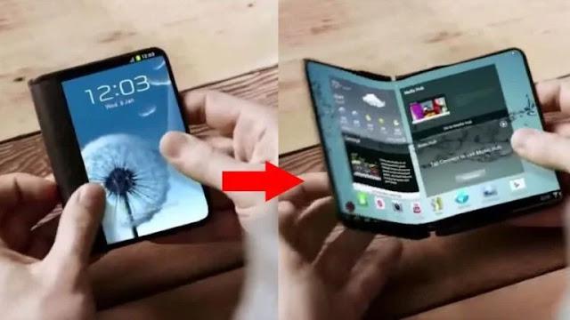 Smartphone Samsung Galaxy X Bisa Dilipat Tiba di 2018