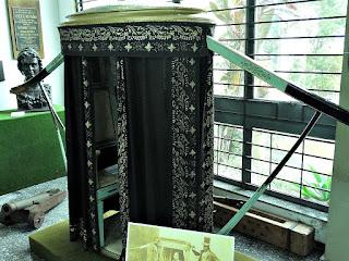 Liteira do Primeiro Império no Museu Histórico de São Leopoldo