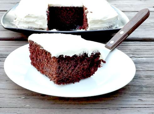 Home Sweet Homestead: Depression Era Chocolate Cake