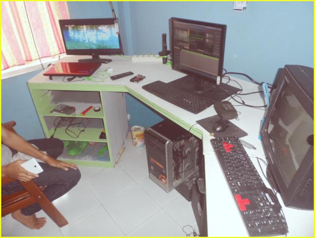 Ruang Kontrol Ssiaran Stasiun Barabai TV Ch 23 UHF