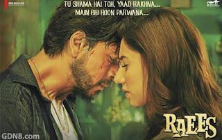 Raees Movie - Shah Rukh Khan, Mahira Khan