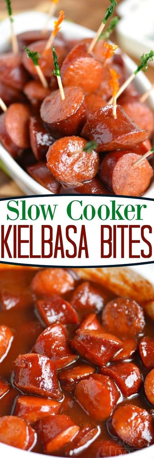 Slow Cooker Kielbasa Bites