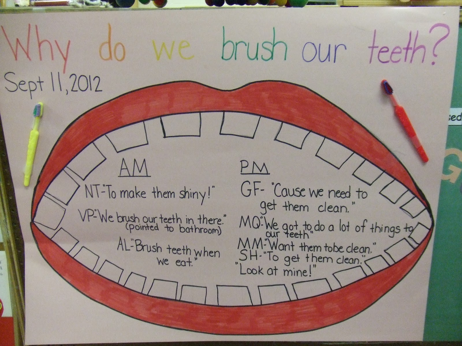 Cachey Mama S World Of Learning Brushing Teeth Activity