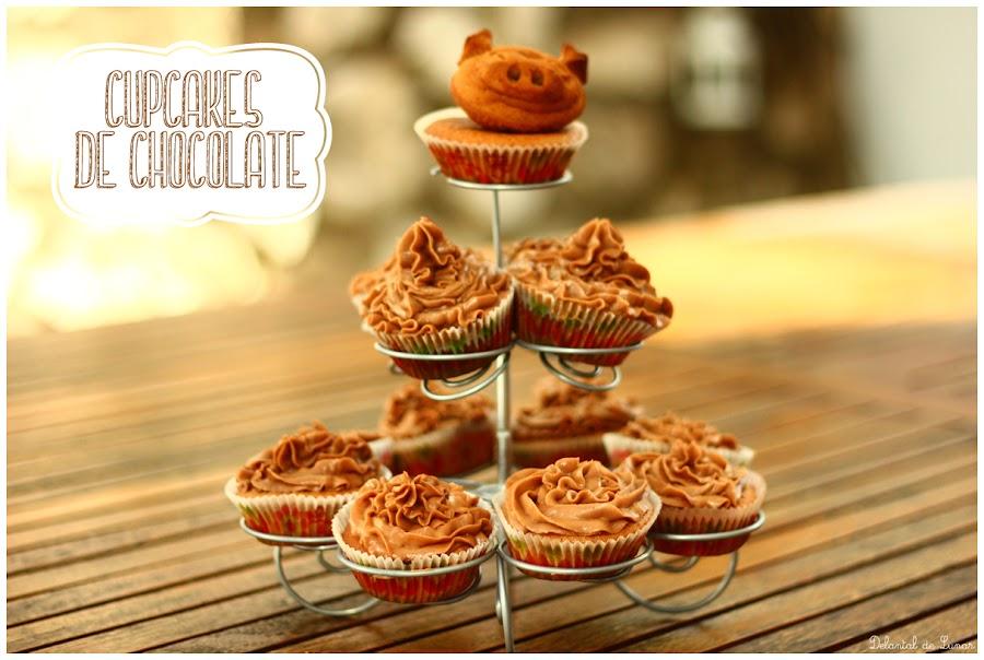 Foto: Cupcakes de chocolate